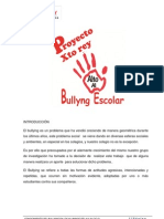 Proyecto Del Bullying 2013