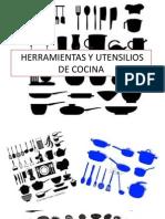 HERRAMIENTAS Y UTENSILIOS DE COCINA EXPOSICIÓN