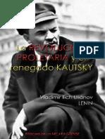 Vladimir Ilich Uliánov, Lenin. La revolución proletaria y el renegado Kautsky; 1918