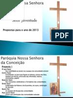 Peregrinação da Cruz JMJ_Paróquia Nossa Senhora da Conceição