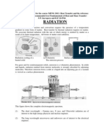 RADIATION Lecture Notes