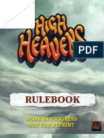 High Heavens Rulebook WIP