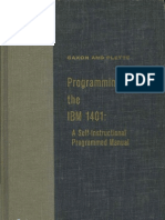 Programming the 1401 1962