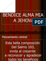 Bendice Alma Mia 9-12-05