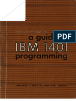 A Guide to 1401 Programming 1961
