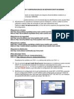 Instalacion y Configuracion de Un Servidor Dhcp en Debian