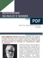 4behaviorismo Em Pavlov e Skinner