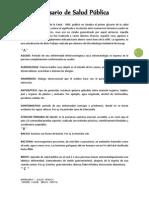 Glosario de Salud Pública1