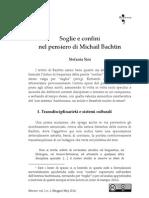 Soglie e Confini in Bachtin