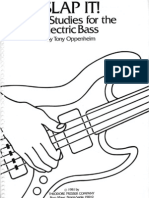 Music - Bass - Slap It - Funk Studies for the Electric Bass by Tony Oppenheim