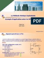 Méthode Statique Equivalente_RPA99 Ver 2003