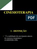 Cinesioterapia - Objetivos