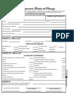 Formato Solicitud Afiliacion de Empresa
