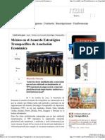 07-05-13 México en el Acuerdo Estratégico Transpacífico de Asociación Económica