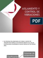 Aislamiento y Control de Vibraciones