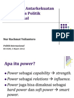 Great Power international Relation (IR)