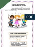 IMPORTANCIA DE LA EDUCACIÓN MUSICAL