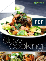 Slow cooking recipe ebook