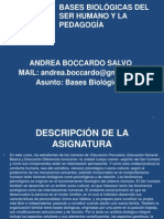 Bases Biologicas - Clase 01