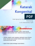 katarak kongenital ppt