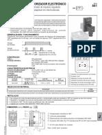 Temporizador Electrónico Asco - Joucomatic