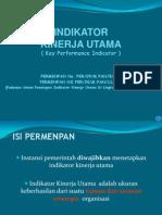 Indikator Kinerja Utama Edit