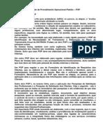 G9 - Orientacao Para a Elaboracao de Procedimento Operacional
