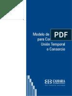 Modelo de Clausulas Para Contratos de Union Temporal o Consorcio 3-11-09