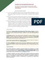 Bases Normativas de La Propiedad Intelectual