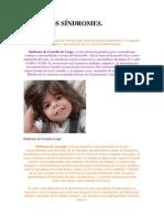 DISTINTOS sindromes por daños en el gen.docx
