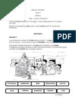 BAHASA INGGERIS-Paper 2-Akhir Tahun