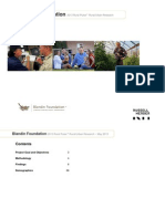 Blandin Foundation 2013 Rural Pulse Rural/Urban Research
