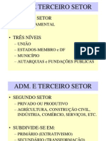 TERCEIRO SETOR - Introdução
