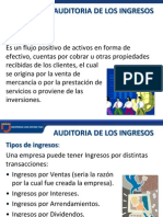4.- Auditoria de Ingresos, Costos y Gastos