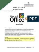 100 questões VUNESP Office XP nível médio SCRIBD