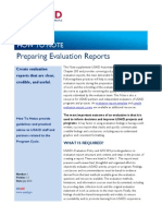 USAID, How to Note, Preparing Evaluation Reports, 2012, uploaded by Richard J. Campbell