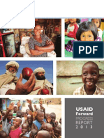 USAID Forward Progress Report, 2013, uploaded by Richard J. Campbell