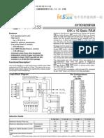CY7C1021BV33-15VI(64K的 16静态RAM) _www ic5 cn