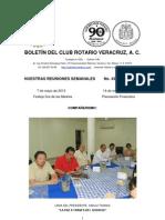 Boletín Rotario del 7 de mayo de 2013