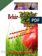 Parasha nº 32 Behar  4 Mayo 13