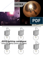 2013 Lighting catalogue - Carbon arc lighting systems and supplies.