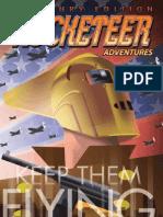 Rocketeer Adventures Treasury Edition Preview