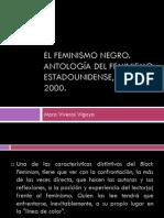 Vigoya Viveros, Mara - El feminismo negro.  Aproximación general