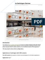 Application of 4pole Switchgear Devices