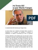 La Muerte Lenta Del Chavismo Por Vargas Llosa