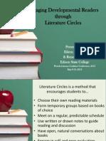 Lit Circles Presentation and Guide Sheets