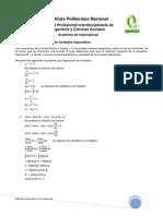 02 - Ecuación diferencial - Variables separables