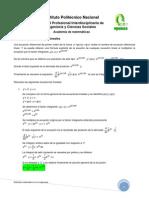 05 - Ecuación diferencial - lineal