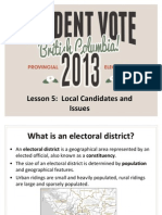 Lesson-4 Local Candidates and Issues