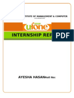 Ufone - A holistic Overview